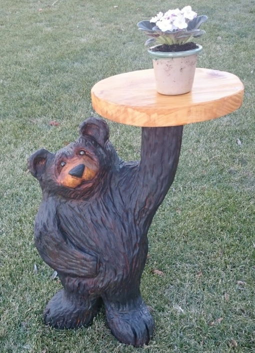Chainsaw Carving by Paul - Benches/Furniture