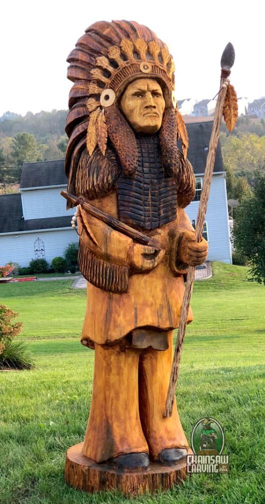 деревянные скульптуры бензопилой