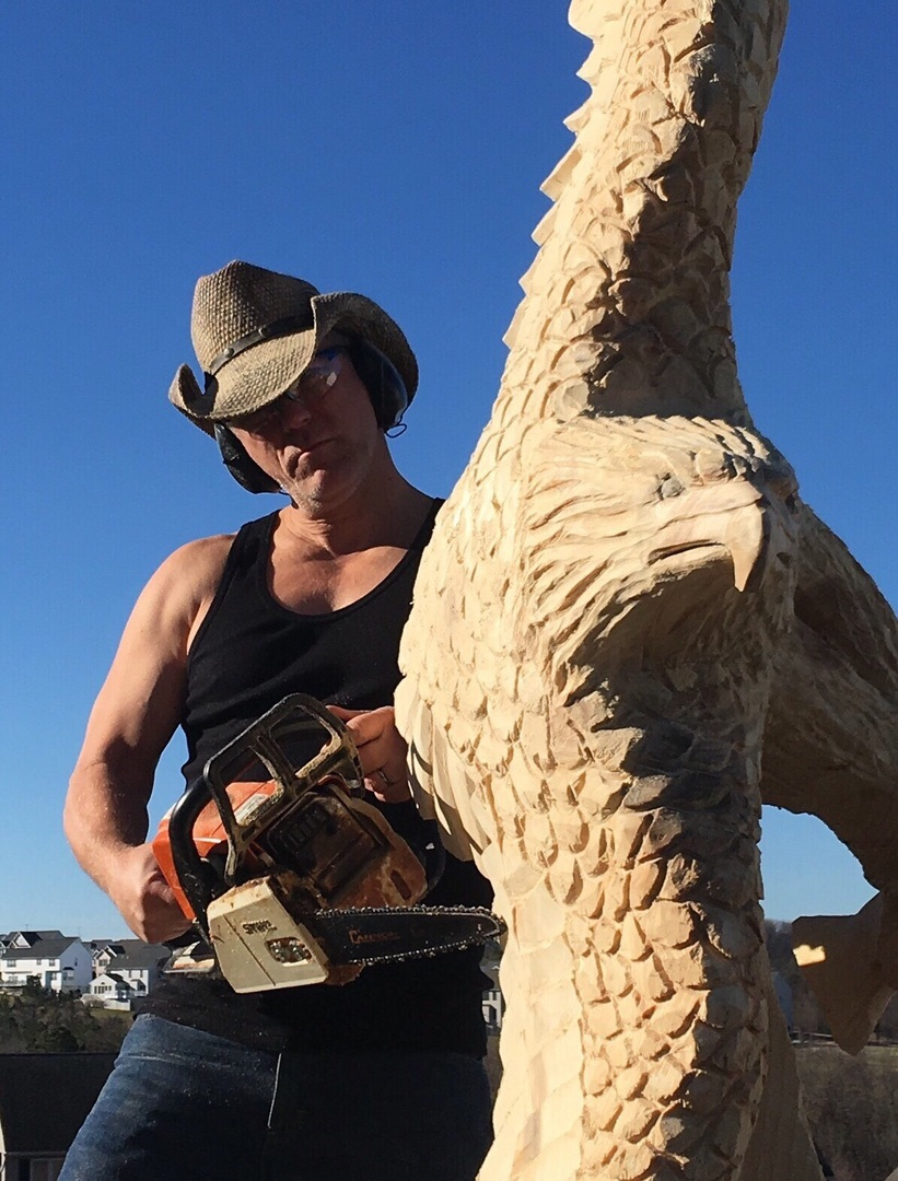 Chainsaw carving by paul quotes