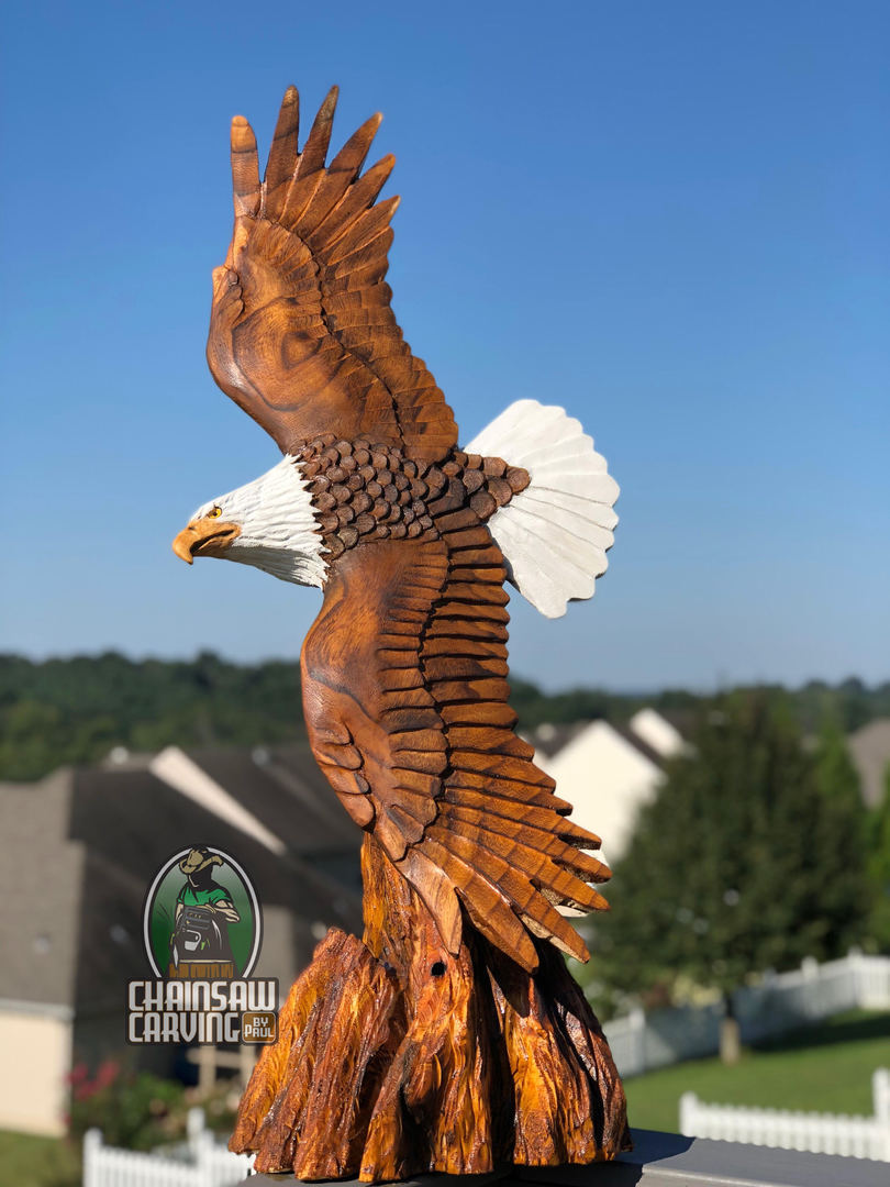 Chainsaw Carving by Paul - Home